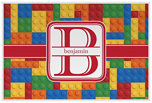 Building Blocks Placemat (Laminated) (Personalized)