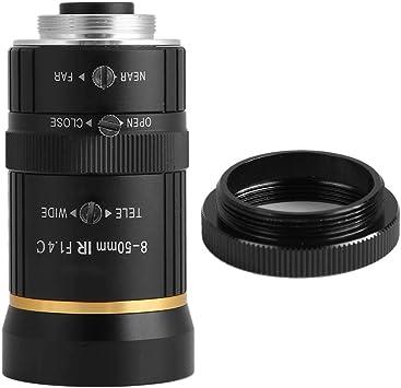 Lente de cámara CCTV, 8-50 mm 3MP CW-VM0850-MP-1/2 Apertura manual ...