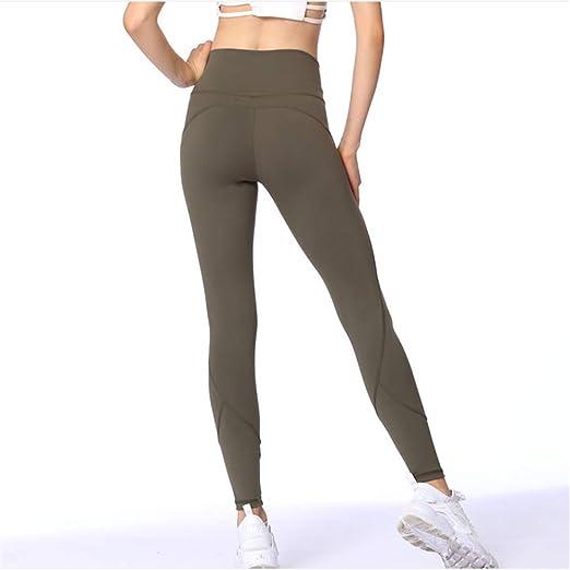 LZ Mallas Deportivas Mujer Yoga Leggings de Entrenamiento para ...