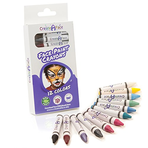 Face Crayon Non Toxic Perfect Sensitive