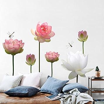 Lotus wall Poster Schlafzimmer Wohnzimmer Flur Schlafzimmer ...