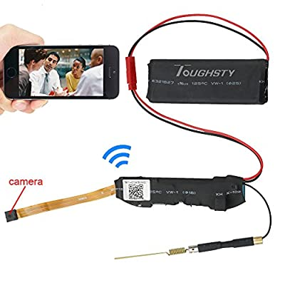 Toughsty™ 720P HD Mini P2P Wifi Hidden Camera Motion Activated Video Recorder DV Camcorder for IOS Android APP Remote View