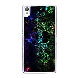 Sony Xperia Z3 Cell Phone Case White Sugar Skull YT3RN2598104