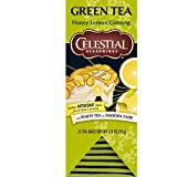 Best Celestial Seasonings Ginsengs - Celestial Seasonings Honey Lemon Ginseng Green Tea, 25 Review