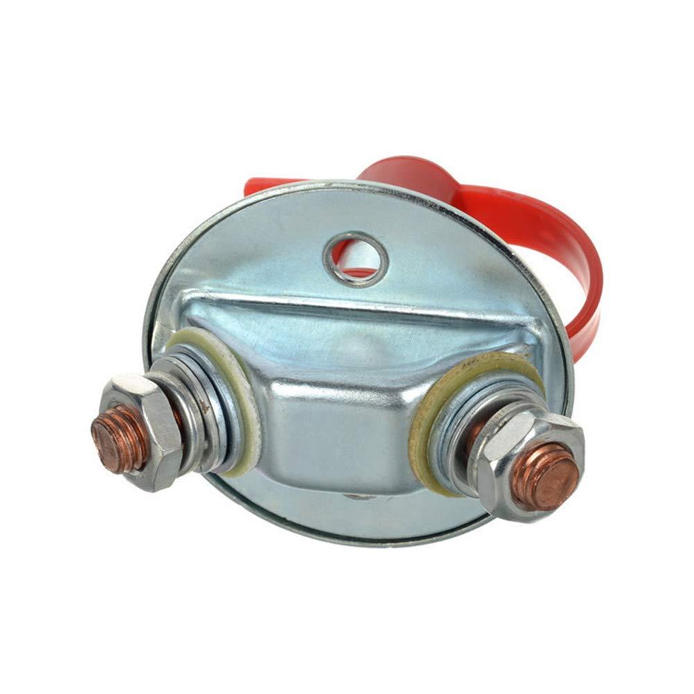 Barco 200 A Interruptor para Coche Yeshai3369 Interruptor de desconexi/ón Maestra de bater/ía cami/ón Apagar desconectar aislador de bater/ía Apagar