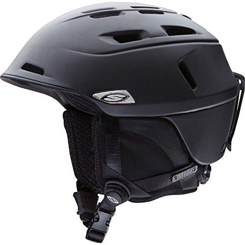 Smith Optics Unisex Adult Camber Snow Sports Helmet - Matte Black Xlarge (63-67CM) by Smith Optics