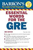 Essential Words for the GRE, Philip Geer Ed.M., 1438002211