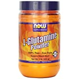 NOW Foods L-Glutamine Pure Powder, 1-Pound