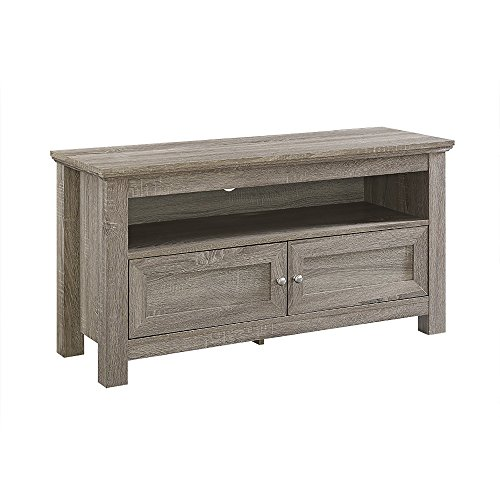 "WE Furniture 44"" Cortez TV Stand Console, Driftwood"