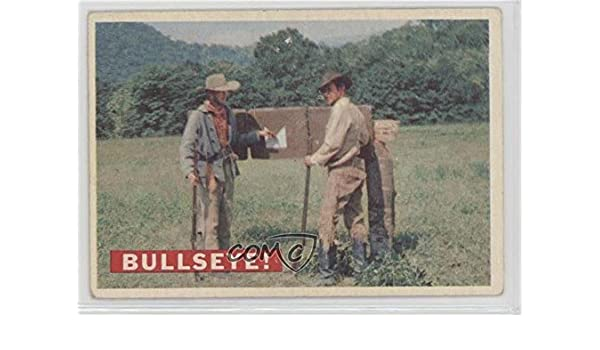 Bullseye! (Grey Stock Back) Ungraded COMC Good to VG-EX (Trading Card) 1956 Topps Davy Crockett Series 1 - [Base] #35.1 at Amazons Entertainment ...