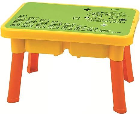 LIPETLI Verano Agua Juguete Conjunto Agua Arena Mesa Infantil Plastico Durable Multifuncional Agua Mesa Mesas Juegos Exteriores Kids Juego Mesa: Amazon.es: Deportes y aire libre