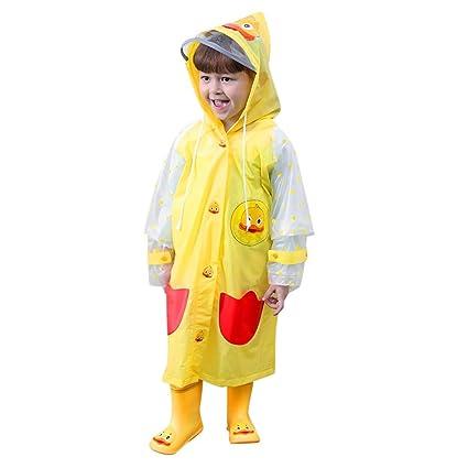 82aeaeee0 Amazon.com   AutumnFall Raincoat for Kids Rain Jacket Age 18Months ...