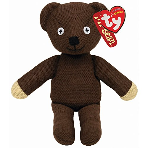 Mr Teddy Bear Bean Plush (TY Beanie Baby - MR BEAN'S TEDDY BEAR (UK Exclusive))