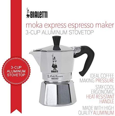 Bialetti Mocha Coffee Jar 250 g Glass with Cap