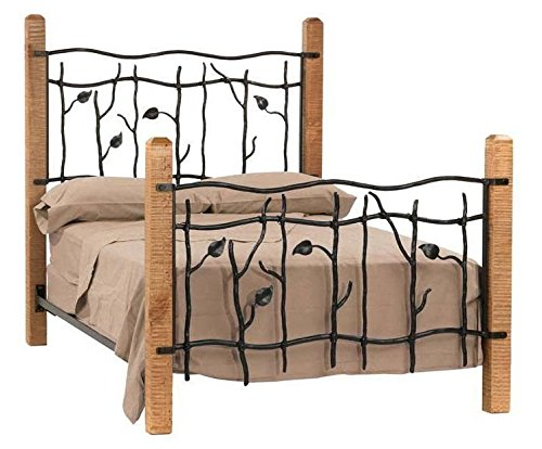 Stone County Pine Bed - Sassafras Bed w Pine Posts, Twin