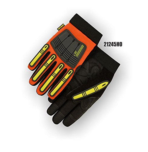 (12 Pair) Majestic KEVLAR ARMORSKIN GLOVES WITH KNUCKLE & FINGER GUARDS - 3X LARGE(21245HO/13)