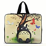 9.7'' 10'' 10.2'' Laptop Netbook Tablets Sleeve Bag Case Cover for Apple iPad 4 3,2 1 /Samsung Galaxy Note 10.1''/Microsoft Surface Rt 10.6'' Pro Tab/Google Android 10 inch Tablets - Totoro N10-25555