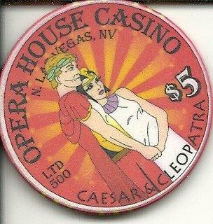 $5 opera house las vegas casino chip