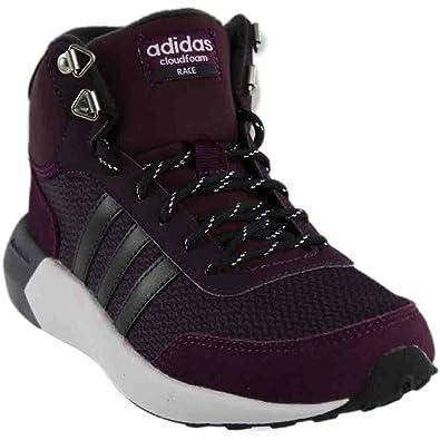 Adidas neo donne s cloudfoam corsa wtr metà w scarpa da corsa, merlot / grey