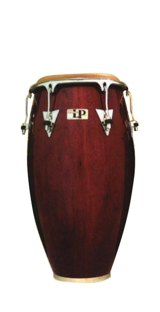 Latin Percussion LP Classic Model Wood 11-3/4'' Conga - Wine Red/Chrome