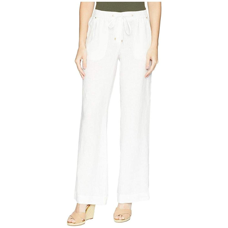 (ジョーンズ ニューヨーク) Jones New York レディース ボトムスパンツ Linen Easy Pants [並行輸入品] B07H2DZ7VD   10x32
