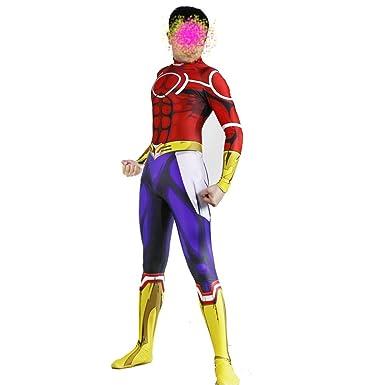 NoveltyBoy BNHA Boku No Hero My Hero Academia All Might Jumpsuit Cosplay Costume Halloween Bodysuit