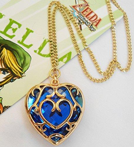 Video Game the Legend of Zelda Heart Necklace