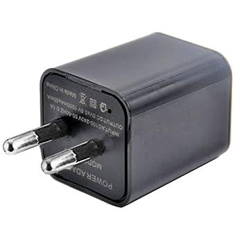 Mini cámara 1080P HD Cámara de vigilancia oculta Cargador USB cámara de seguridad WiFi pequeña detección