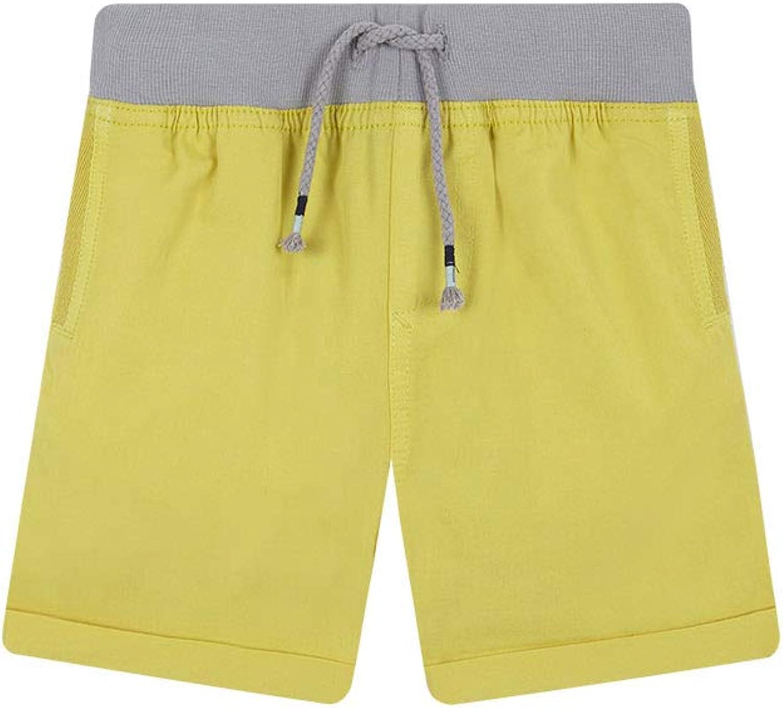 Gocco Bermuda Cinturilla Elastica Pantalones para Ni/ños