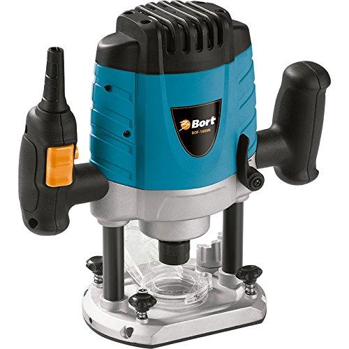 5 opinioni per Bort BOF-1600N- Fresatrice verticale semiprofessionale, 1600 W