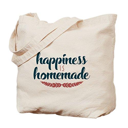Medium Cafepress Bolsa Is Homemade Happiness Caqui Lona n1pUY8n