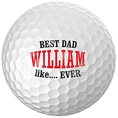 Infusion Father's Day Golf Balls - Personalize The Name (12 Balls)