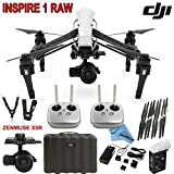 DJI Inspire 1 RAW Bundle with Zenmuse X5R, TB47B Intelligent Flight Battery, Remote Harness, Dual Remotes & more…