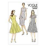 Vogue Patterns V9102 Misses'/Misses' Petite Dress, Size A5 (6-8-10-12-14)