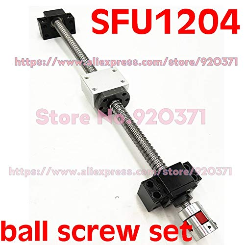 Amazon.com: Lysee SFU1204 set RM1204 rolled ball screw C7 ...