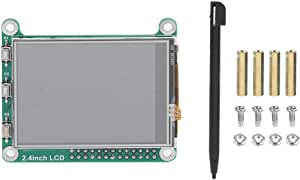 2.4 Inch 320 * 240 Resolution TFT LCD Resistive Touch Screen Display for Raspberry Pi - High Speed 48Mhz,an Ideal Replacement for Raspberry Pi Monitors