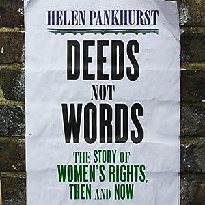 Deeds Not Words Audiobook