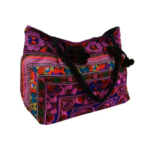 BenThai Products, Borsa tote donna Multicolore Multicolor Large