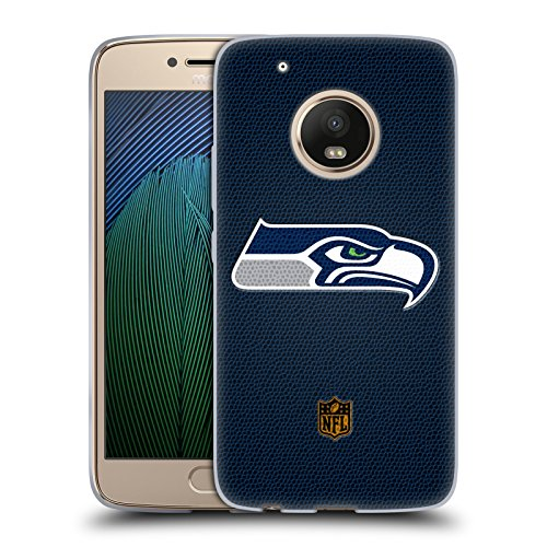 Price comparison product image Official NFL Football Seattle Seahawks Logo Soft Gel Case for Motorola Moto G5 Plus