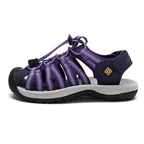 160912 Dream Pairs Women's w Adventurous Purple Summer Outdoor Sandals 1qZTqSx