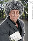 Unisex Old Person Black Grey Wig Grandad Grandma Nan Nanny Fancy Dress