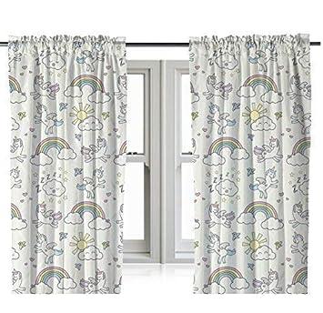 """Zappi Co Licorne Design par Le Cadeau Scholars. Réversible Bébé Couverture,  Duvet Individuel, 54"""" Rideaux 72"""" Rideaux. Fun Enfants Garçons ..."""
