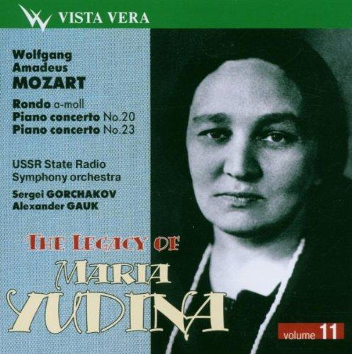 Yudina online shopping Legacy Vol. 11 - Mozart Rondo 23 20 And K 511 famous Pcs