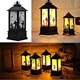 RONSHIN Creative Retro Halloween Simulate Flame Lantern Light Pendant Lamp for Party Halloween Decoration