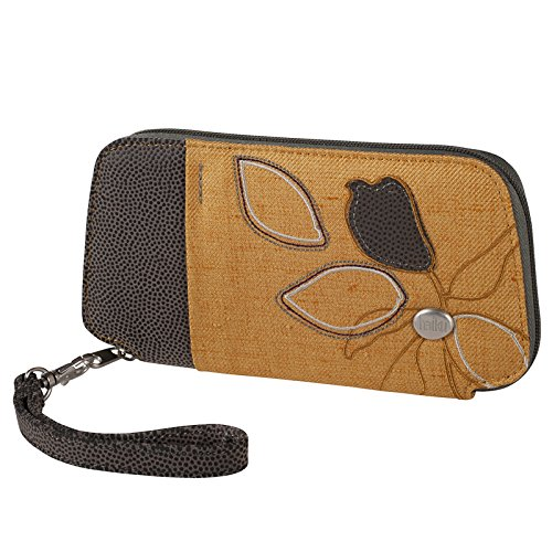 Haiku Women's Fortitude Eco Clutch Wallet, Amber Gold - Amber Wallet