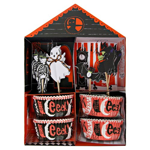 MyCupcakeCase Happy Halloween Cupcake Decorating Kit -