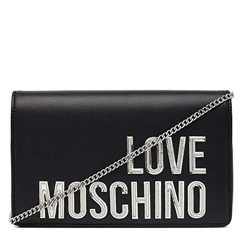 bbd5335ab5af9 Women s handbag shoulder bag pochette LOVE MOSCHINO item JC4296PP07KN BORSA  MATT NAPPA PU