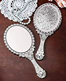 Handheld Vanity Makeup Mirror Decorative Vintage