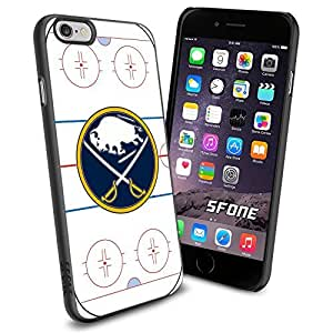 Buffalo Sabres Rink Ice #2136 Hockey iPhone 6 (4.7) Case Protection Scratch Proof Soft Case Cover Protector