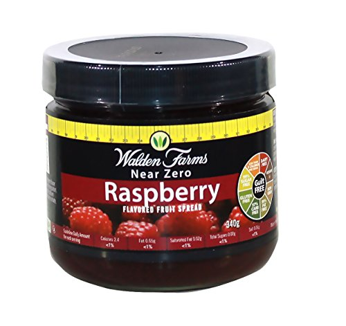 Walden Farms Fruit Spread, Raspberry, 12 Ounce ()